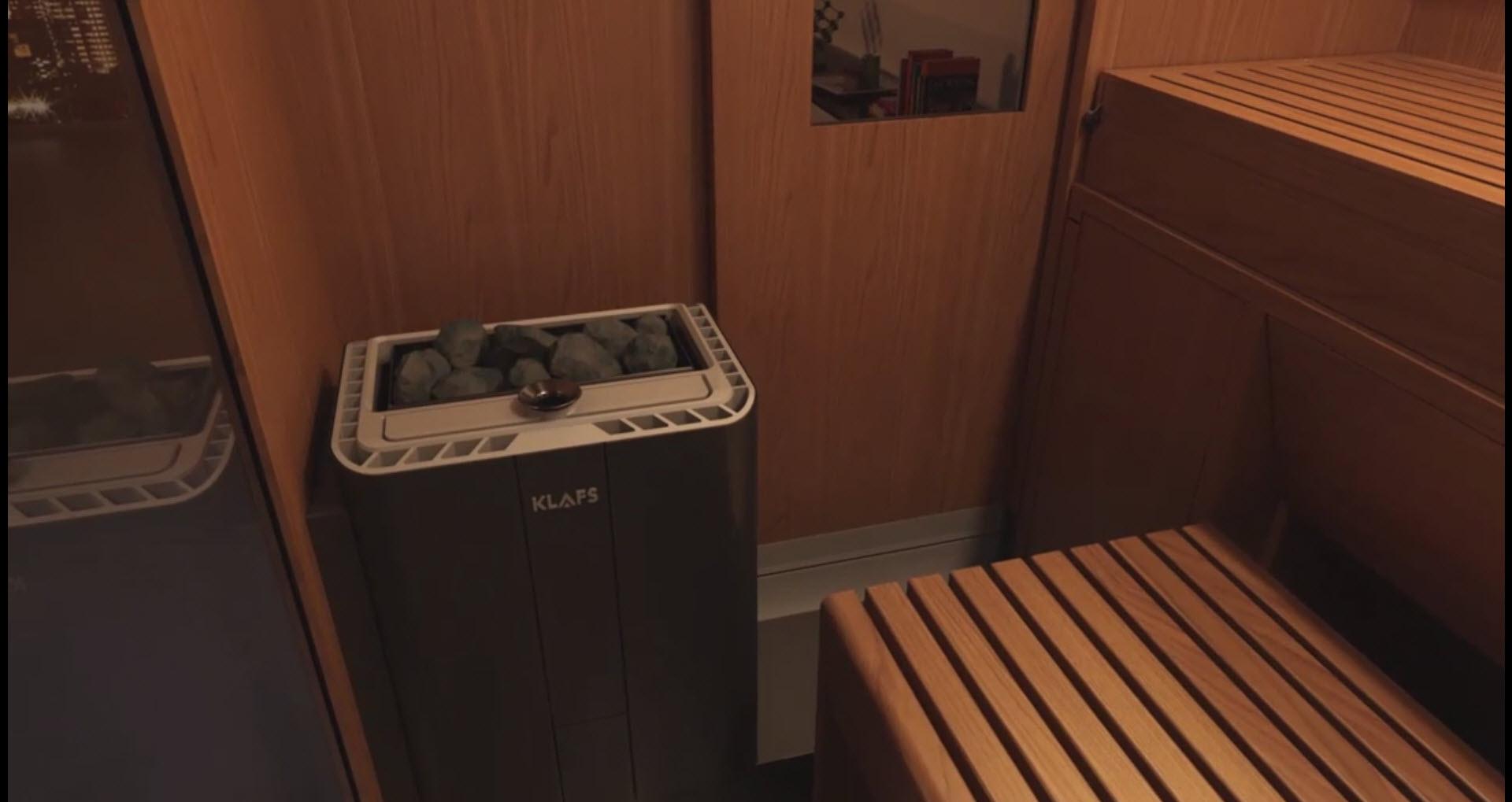 Srce saune: Peć Varius