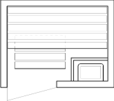 Tlocrti saune 110x140