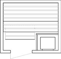 Tlocrti saune 150x170