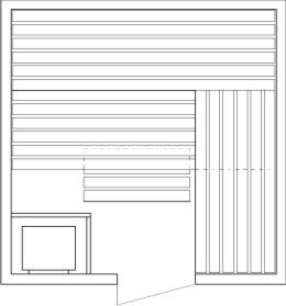 Tlocrti saune 220x220