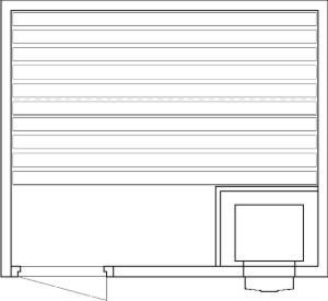 Tlocrti saune 170x200