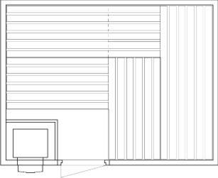 Tlocrti saune 200x260