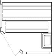 Tlocrti saune 158x158
