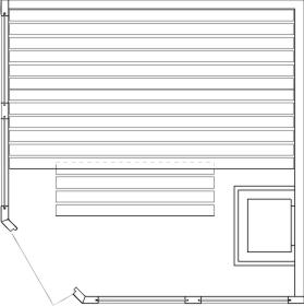 Tlocrti saune 236x236