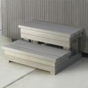 Stepenice za bazen | Ulazne tepenice za bazene | Drvene stepenice za