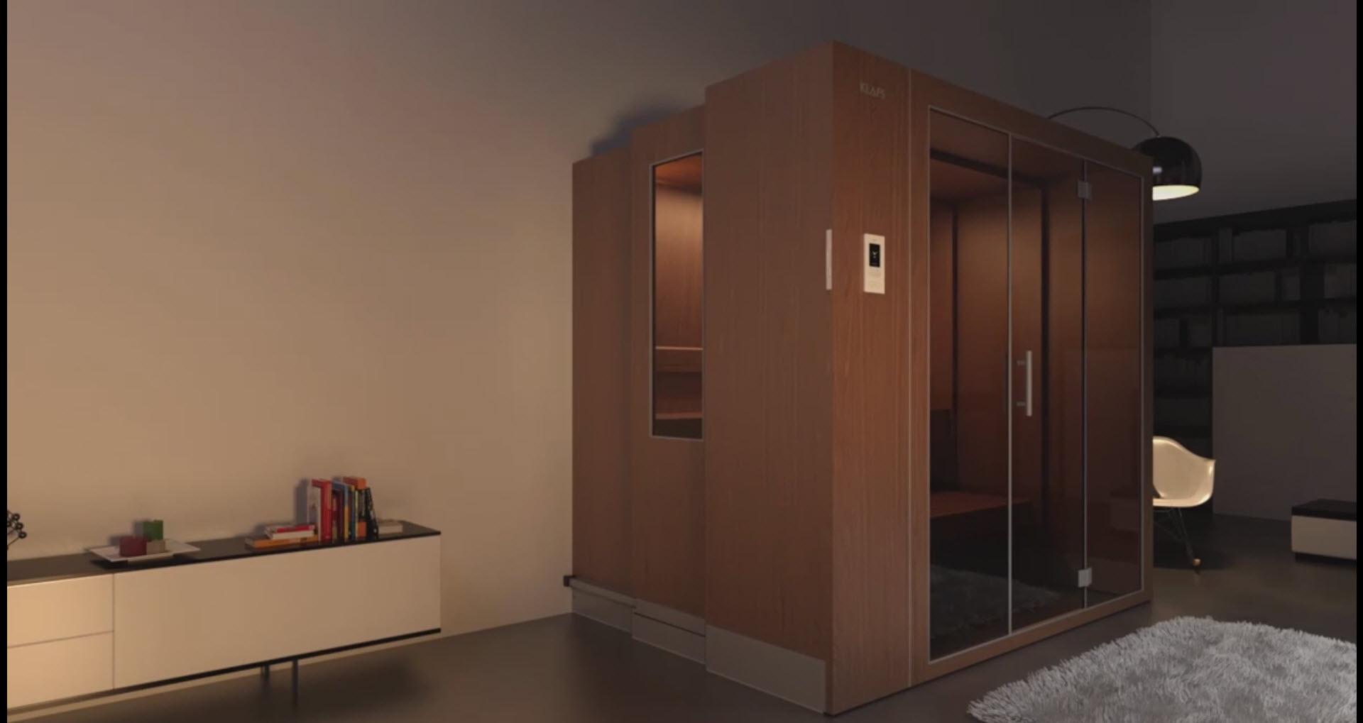 Veličina saune prema mogućnostima